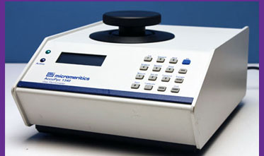 Sold Used Micromeritics Accupyc Gas Pycnometer From